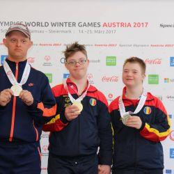 O medalie de aur, patru de argint si trei de bronz obtinute la Jocurile Mondiale