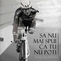 Povestea inspiratoare a ciclistului paralimpic Juan José Méndez