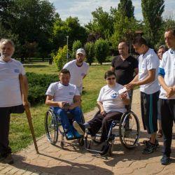 Călătorie cu trenul pentru persoanele cu dizabilităţi