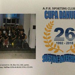 Cupa Danubius  Sustine integrarea, 2327 mai 2018