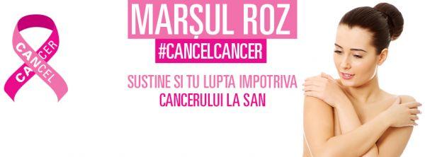 ORASUL GALATI SE ALATURA MARSULUI ROZ CANCELCANCER