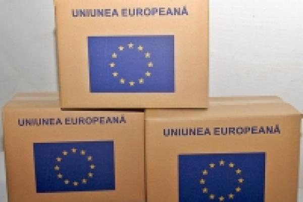 IN ARAD, A INCEPUT DISTRIBUIREA AJUTOARELOR ALIMENTARE DE LA UNIUNEA EUROPEANA