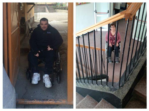 Drepturile persoanelor cu handicap au fost incalcate din nou