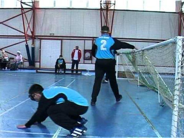 Locul I pentru nevazatorii romani la turneul de fotbal IBSA Euro Challenge Cup