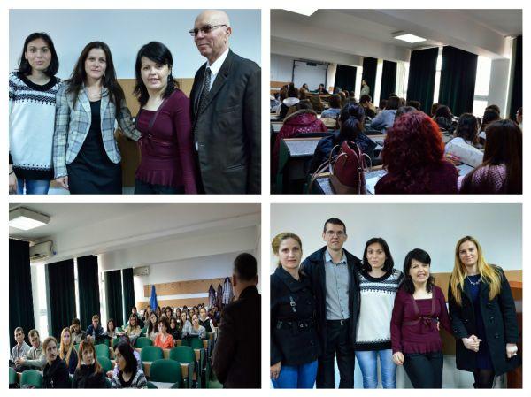 Ziua Internationala a Bolilor Rare marcata la Universitatea Constantin Brancusi