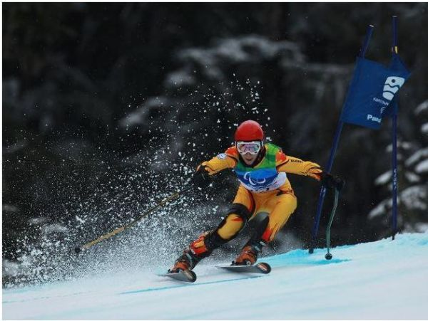 Laura Valeanu a castigat doua medalii de aur la Cupa Europei de schi alpin pentru persoanele cu dizabilitati
