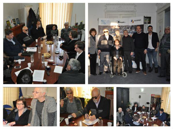 Acord de parteneriat intre CNDR si Consiliul National al persoanelor cu dizabilitati din Grecia