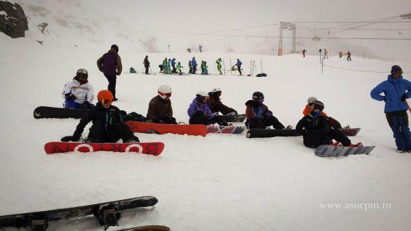 Curs de initiere in sporturile de iarna pentru persoane cu dizabilitati