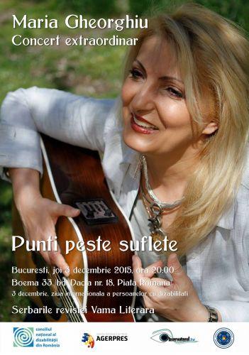 CNDR vă invită la concertul Mariei Gheorghiu