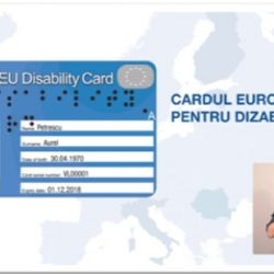 Cardul European pentru Dizabilitate, fara bariere prin Europa